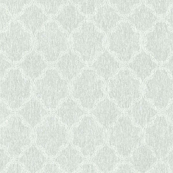 Daniela Light Blue Filigree Trellis