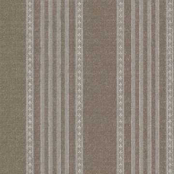 Adria Chocolate Jacquard Stripe