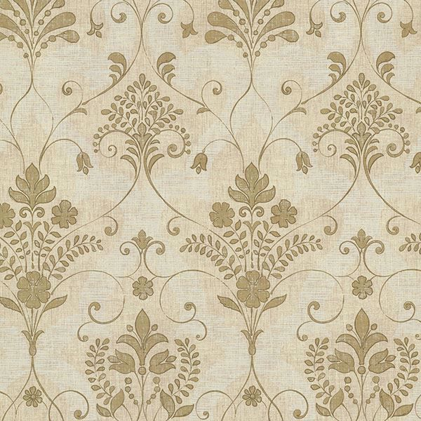 Andalusia Gold Damask