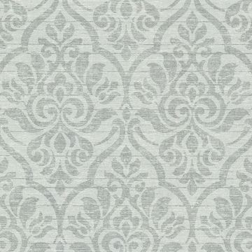 Malia Sage Heirloom Damask