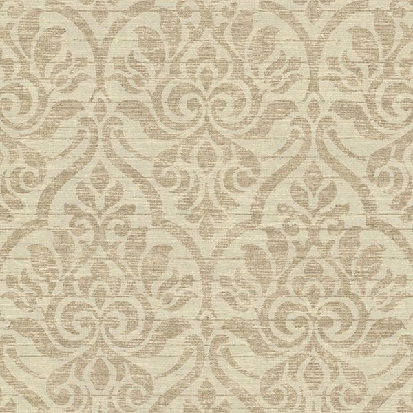Malia Linen Heirloom Damask