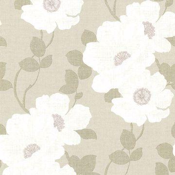 Leala Wheat Modern Floral