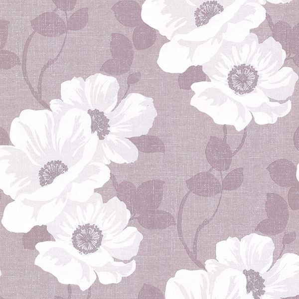 Leala Lavender Modern Floral