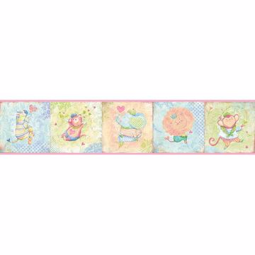 Picture of Lucies Pink Circus Border