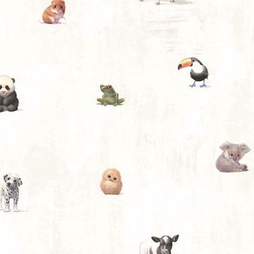 Picture of Tate Light Grey Animal Alphabet