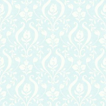 Picture of Eloise Aqua Damask