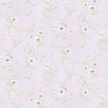 Picture of Capri Lavender Floral Scroll