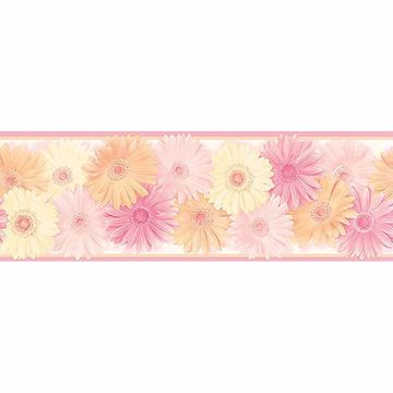 Picture of Becca Pink Daisy Chain Border