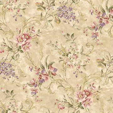 Donatella Wheat Floral Trail
