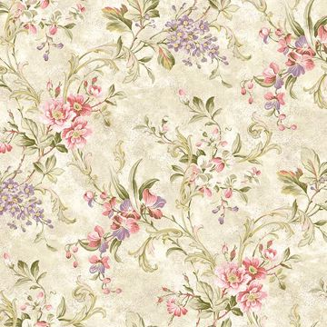 Donatella Cream Floral Trail