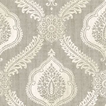 Picture of Zoraya Taupe Damask