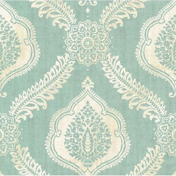 Picture of Zoraya Aqua Damask