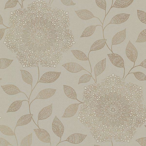 Picture of Shirazi Taupe Bohemian Floral