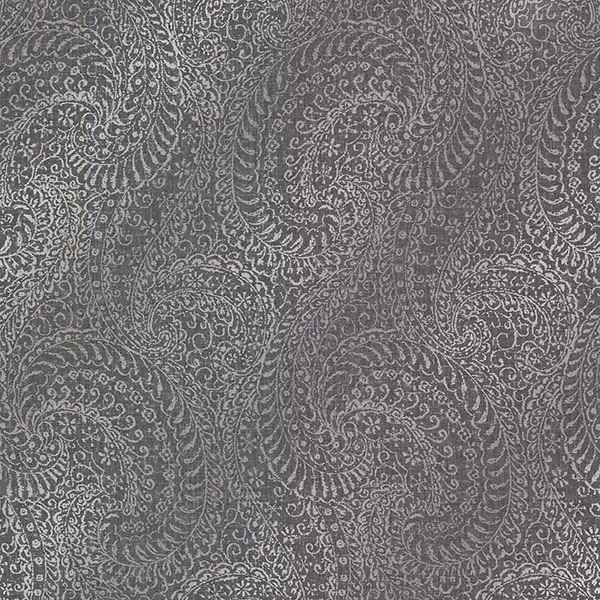 Picture of Daraxa Black Paisley Wallpaper