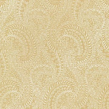 Picture of Daraxa Gold Paisley Wallpaper