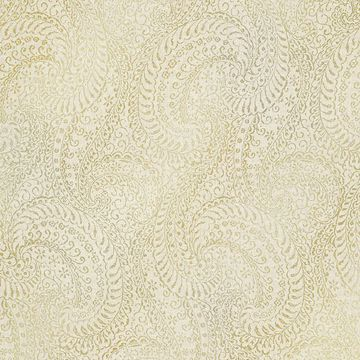 Picture of Daraxa Beige Paisley Wallpaper