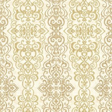 Picture of Mexuar Gold Filigree Stripe