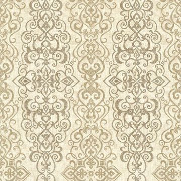 Picture of Mexuar Taupe Filigree Stripe