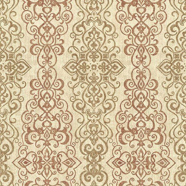Picture of Mexuar Copper Filigree Stripe