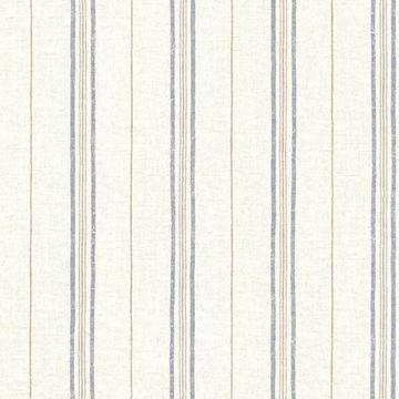Picture of Calais Navy Grain Stripe