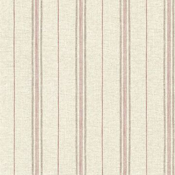 Picture of Calais Red Grain Stripe