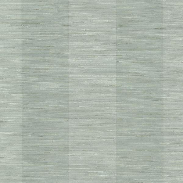 Picture of Oakland Aqua Grasscloth Stripe