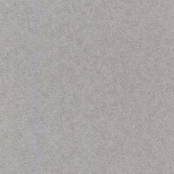 Picture of Harris Pewter Small Paisley Wallpaper