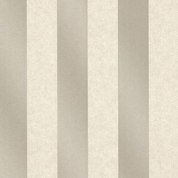 Picture of Magnus Pewter Paisely Stripe Wallpaper