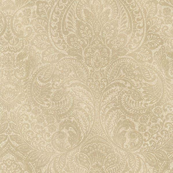 2665 21410 Gold Damask Alistair Avalon Wallpaper By Decorline