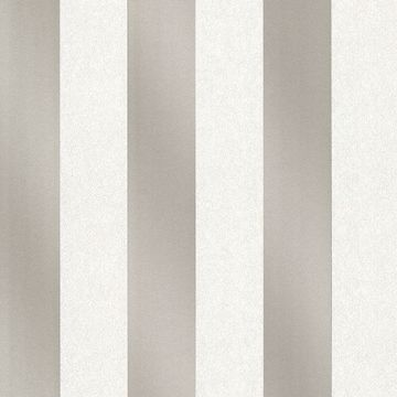 Picture of Magnus Cream Paisely Stripe Wallpaper