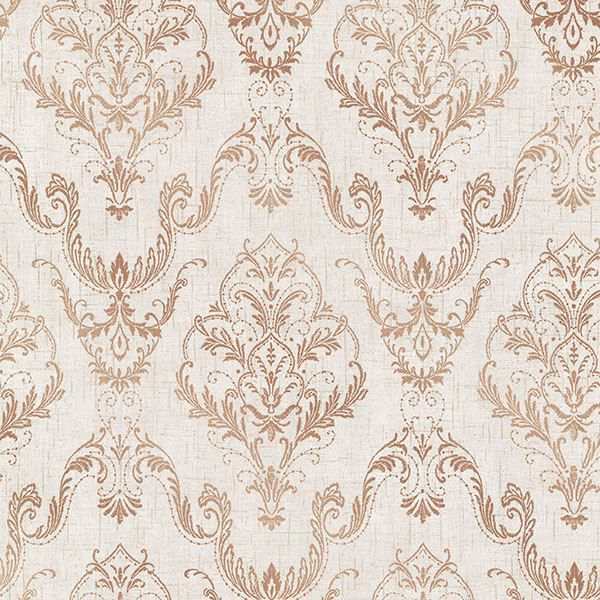 Picture of Wiley Copper Lace Damask