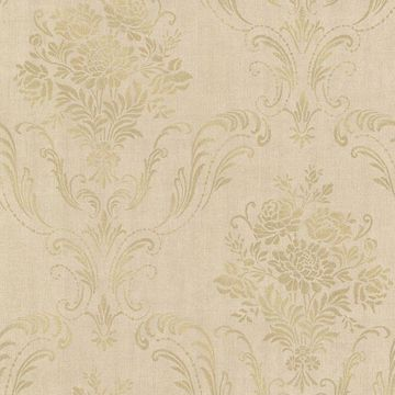 Picture of Manor Gold Floral Damask