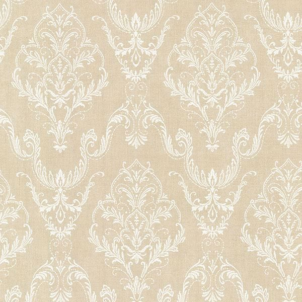 Picture of Wiley Beige Lace Damask