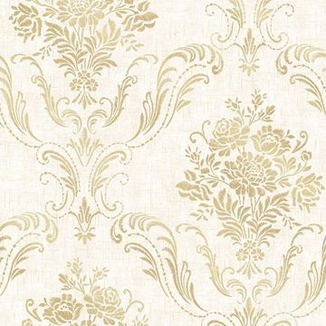 Picture of Manor Cream Floral Damask