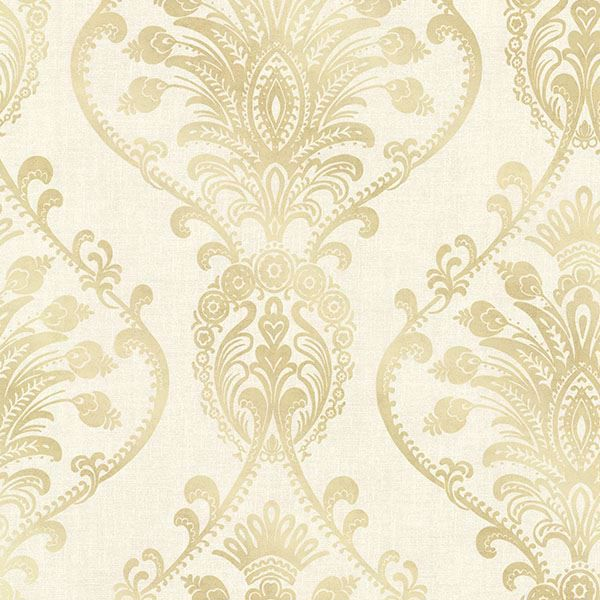 Picture of Noble Cream Ornate Damask