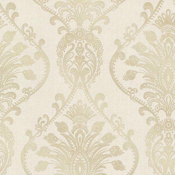 Picture of Noble Fog Ornate Damask