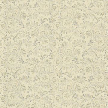 Picture of Sycamore Blue Paisley Wallpaper