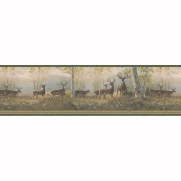 Picture of Storrie Green Deer Border