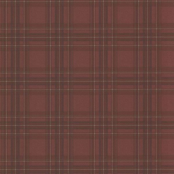 Picture of Fox Hollow Dark Red Plaid