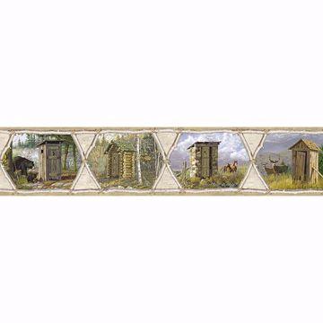 Picture of Sabbatia Grey Privy Collection Border