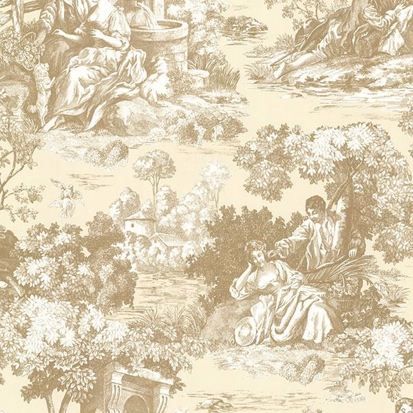 Picture of Isabella Gold Toile