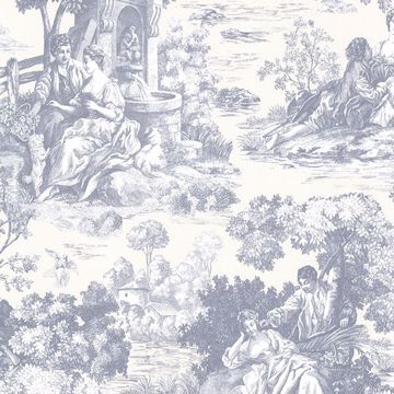Picture of Isabella Blue Toile