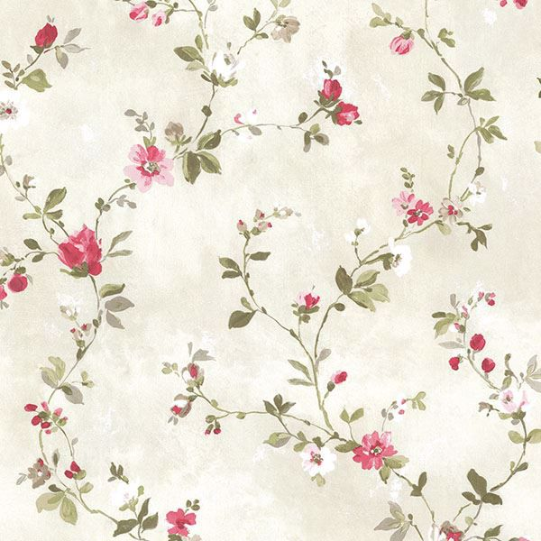 Picture of Isabella  Magenta Floral Trail