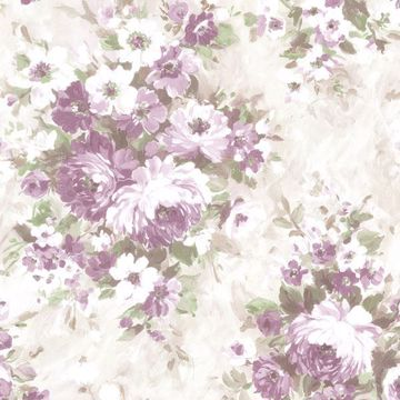 Picture of Belle Purple Floral Bouquet