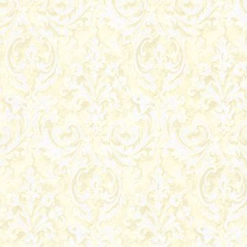 Picture of Aurora Yellow Damask