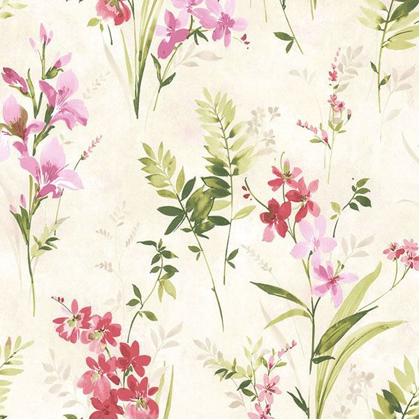 Picture of Henrietta Pink Watercolor Floral