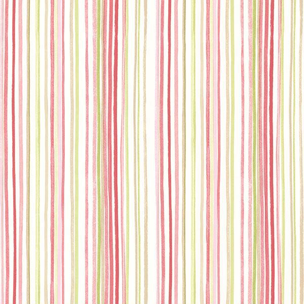 Picture of Estelle Pink Watercolor Stripe