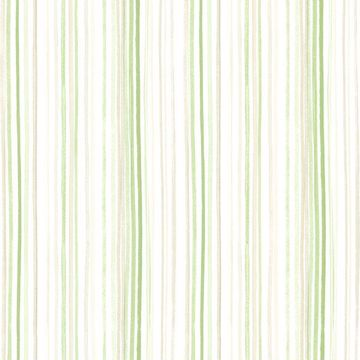 Picture of Estelle Green Watercolor Stripe