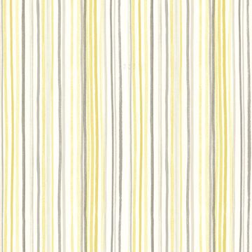 Picture of Estelle Yellow Watercolor Stripe