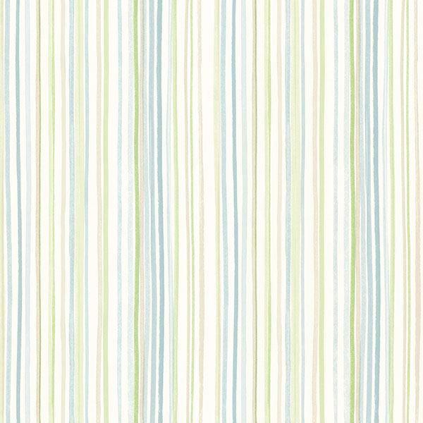 Picture of Estelle Blue Watercolor Stripe